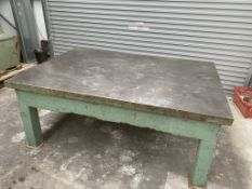 6FT X 4FT Cast iron surface table