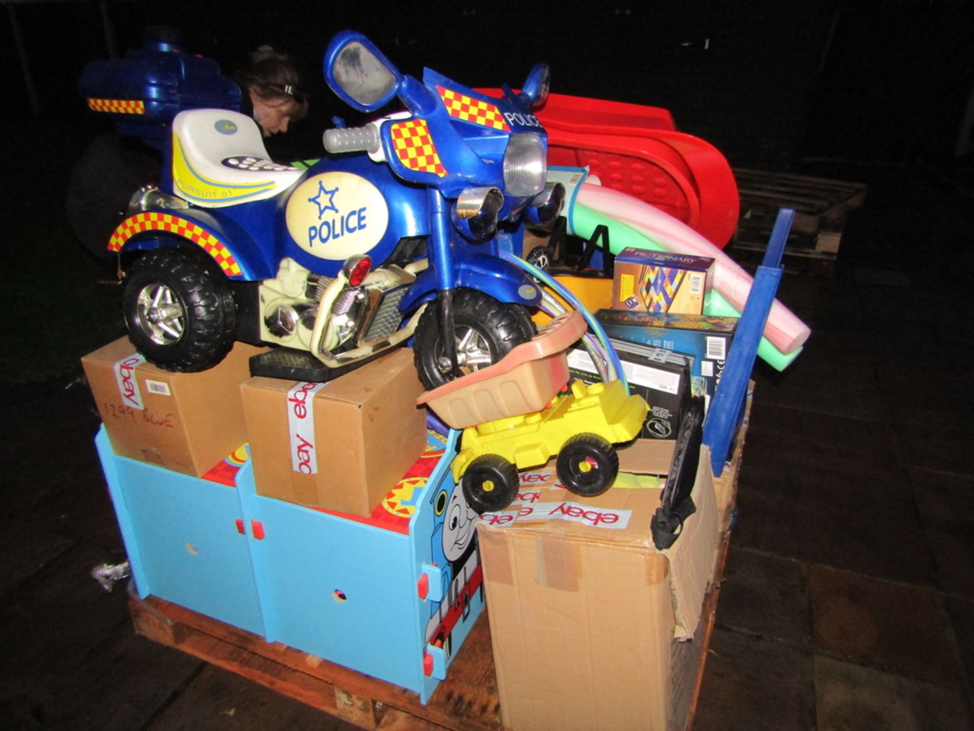 Pallet Load of USED Toys and Games. - Image 2 of 10