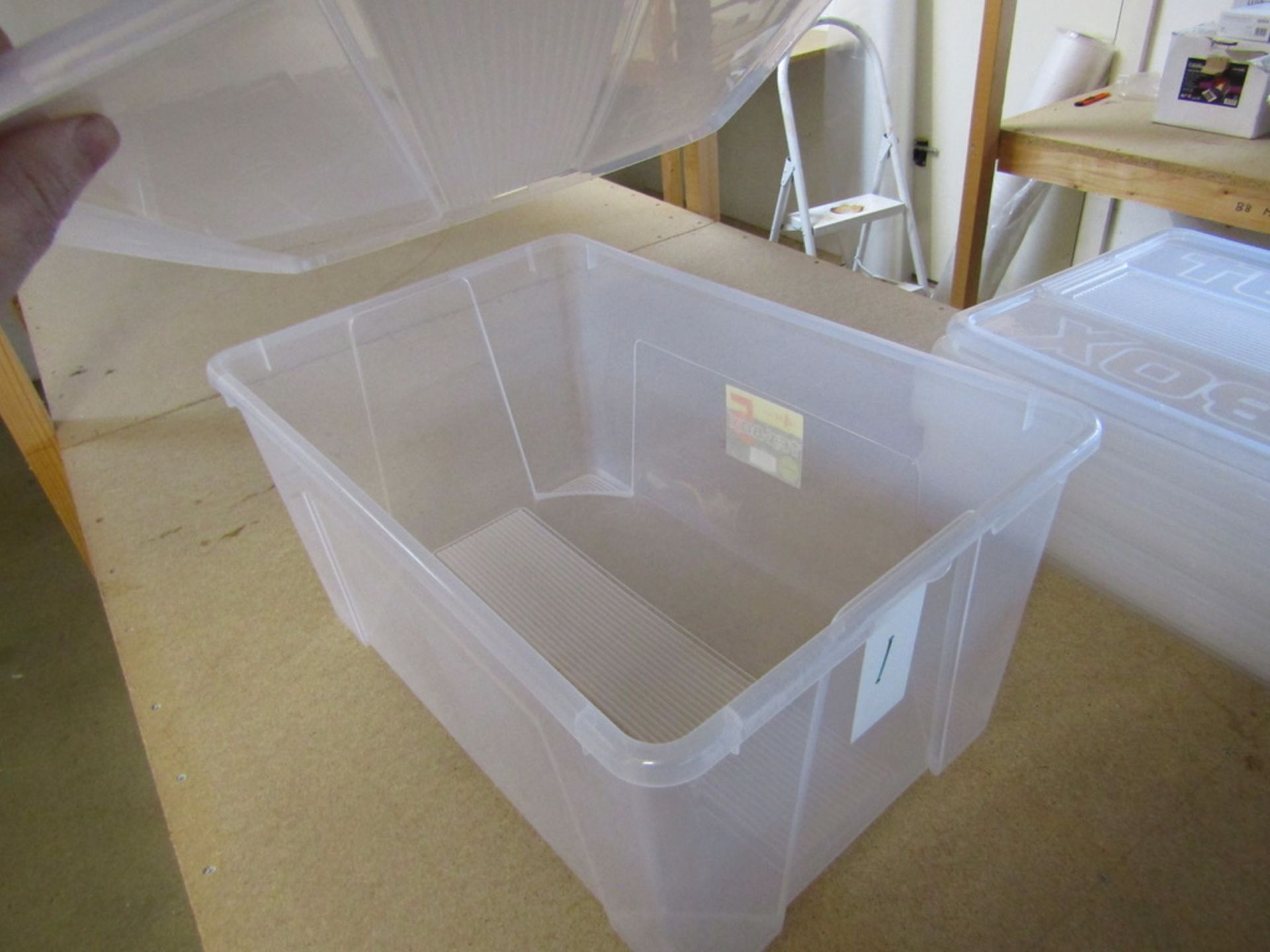 2 Bays of Racking with Storage Boxes. USED - Image 7 of 7