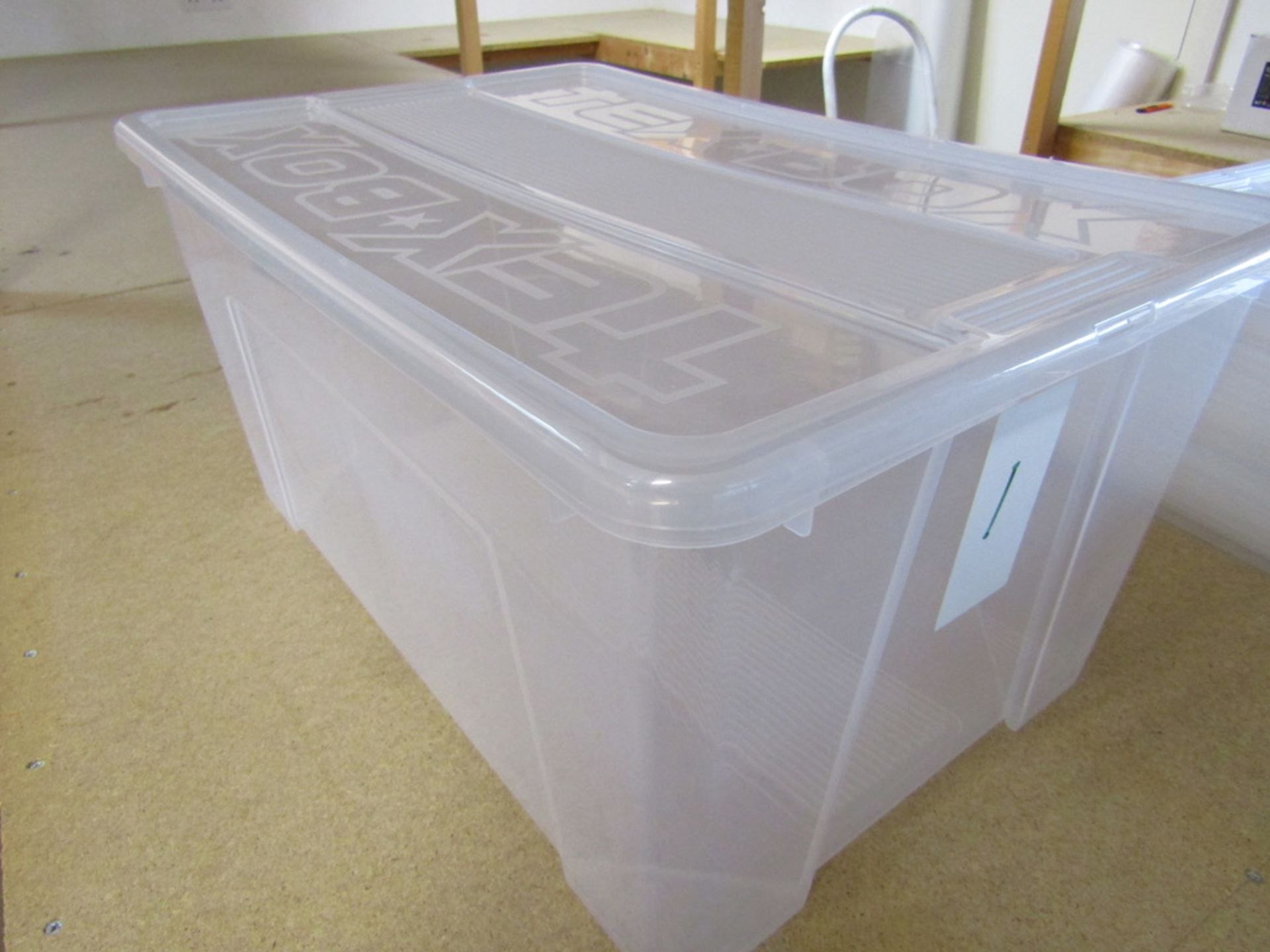 2 Bays of Racking with Storage Boxes. USED - Image 6 of 7