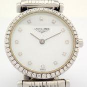 Longines / La Grande Classic Diamond &Mother of Pearl - Lady's Steel Wrist Watch
