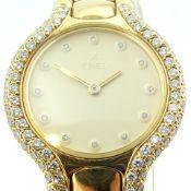 Ebel / Beluga Diamond - 18K Solid Gold - Lady's Yellow gold Wrist Watch