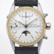 Eberhard & Co. / 32012/A - Gentlemen's Steel Wrist Watch