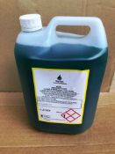 12 X 5L Bottles Of Industrial Strength Pine Disinfectant