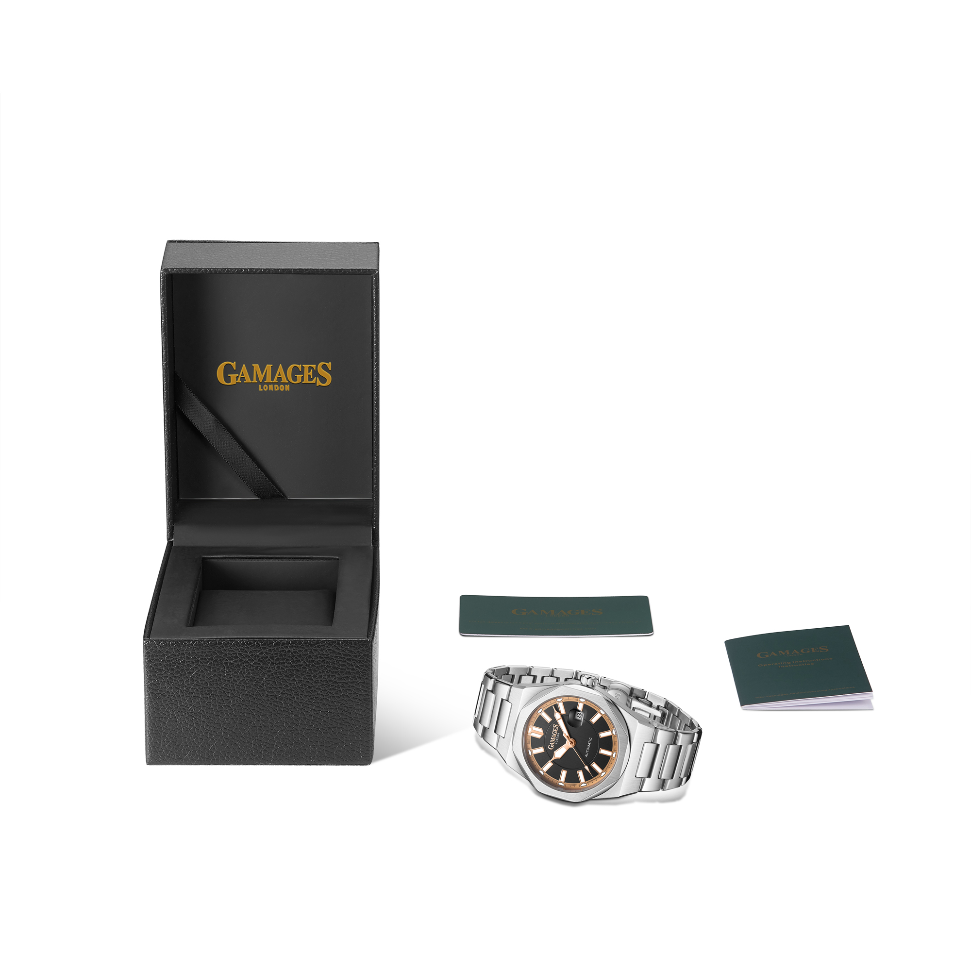 Ltd Edition Hand Assembled GAMAGES Quintessential Automatic Black – 5 Year Warranty & Free Delivery - Image 2 of 5