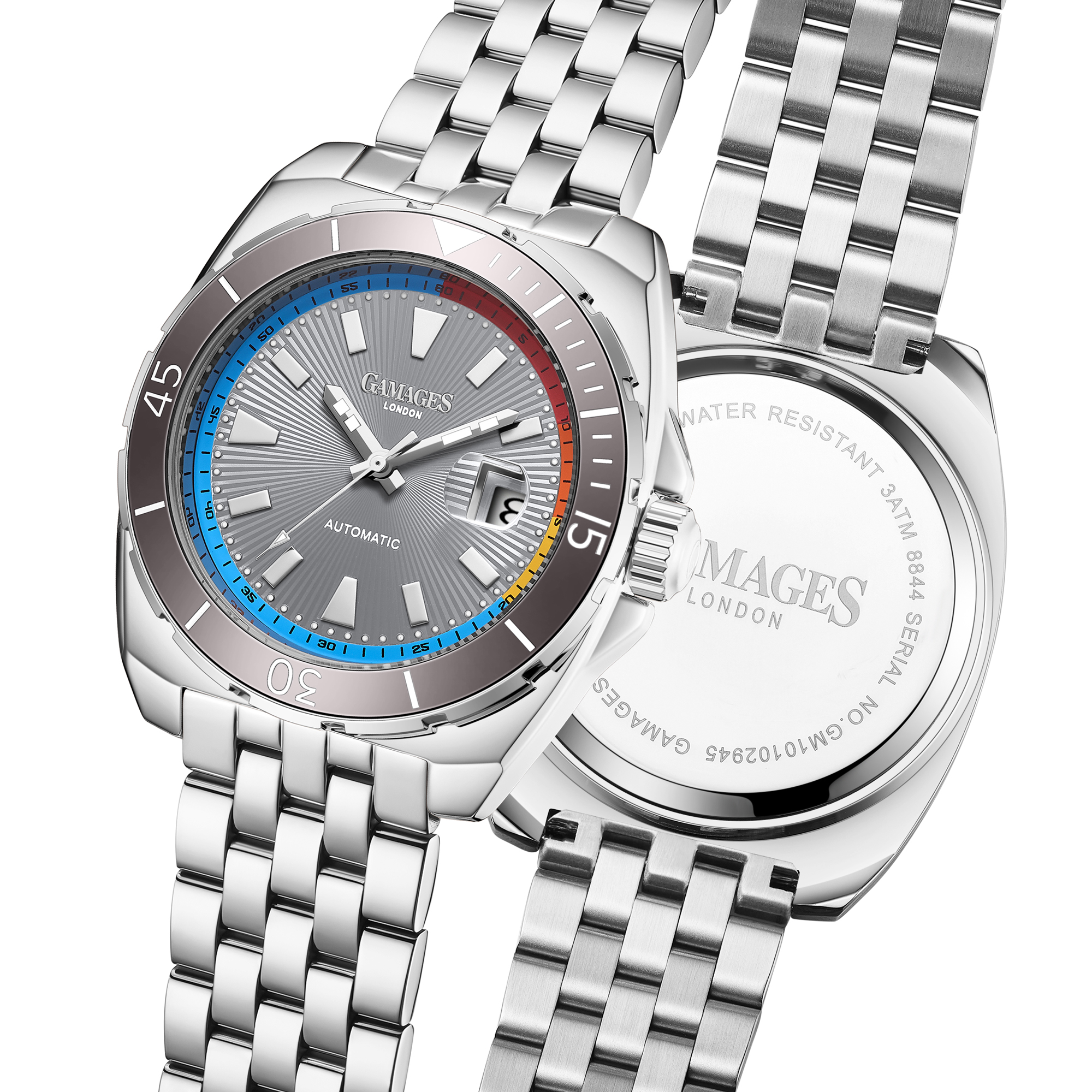 Limited Edition Hand Assembled GAMAGES Regal Automatic Steel – 5 Year Warranty & Free Delivery - Image 5 of 5