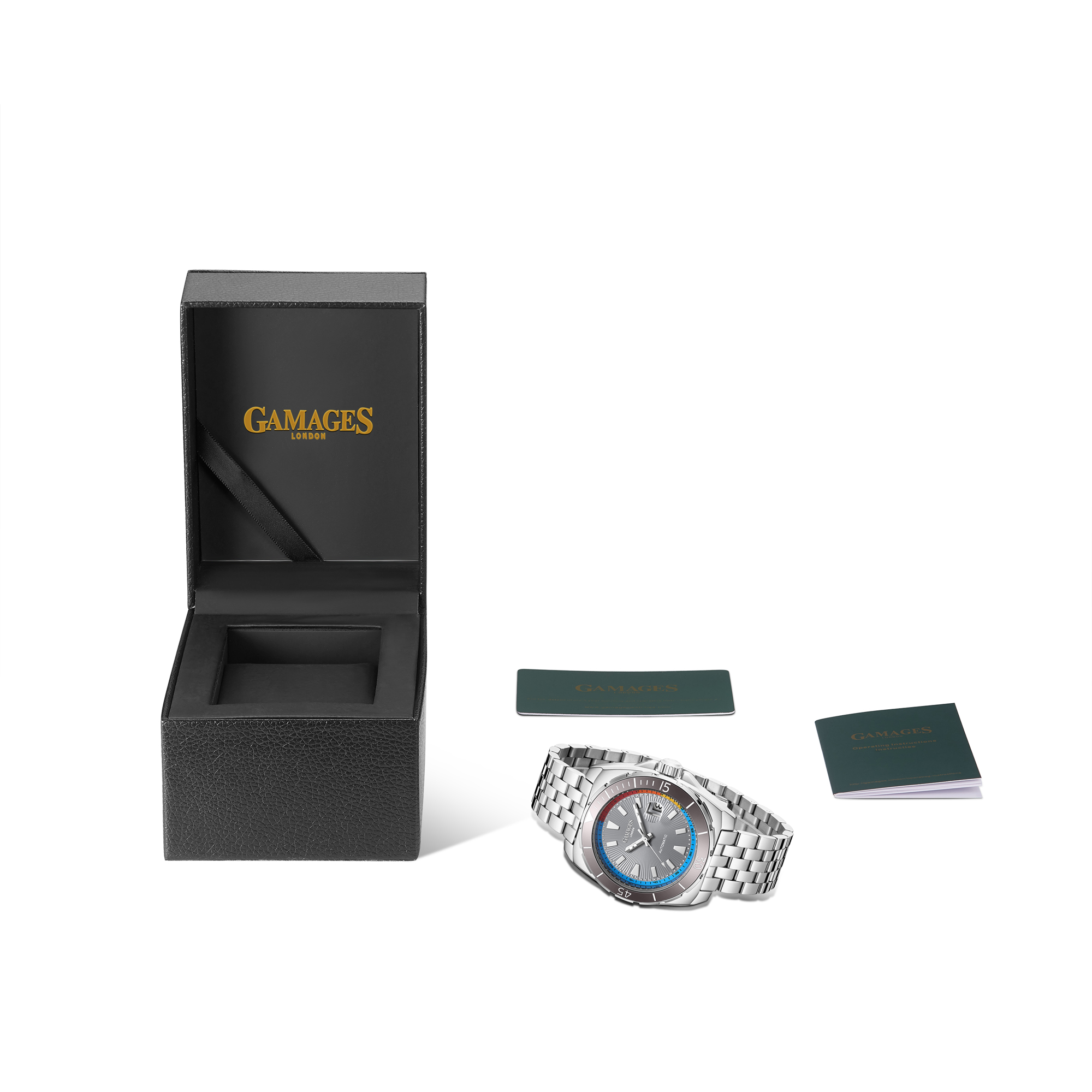 Limited Edition Hand Assembled GAMAGES Regal Automatic Steel – 5 Year Warranty & Free Delivery - Image 4 of 5