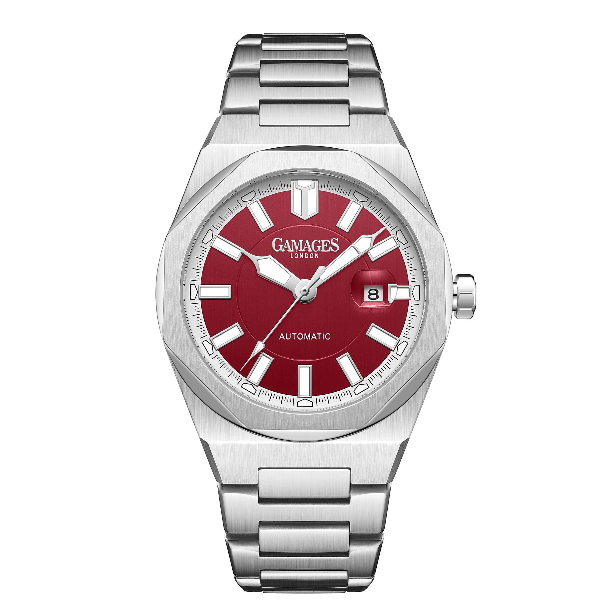Ltd Edition Hand Assembled GAMAGES Quintessential Automatic Red – 5 Year Warranty & Free Delivery