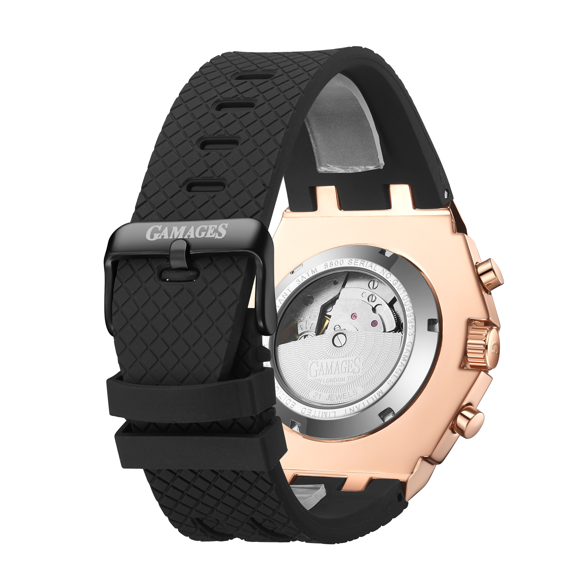 Limited Edition Hand Assembled GAMAGES Militant Automatic Rose – 5 Year Warranty & Free Delivery - Image 5 of 5