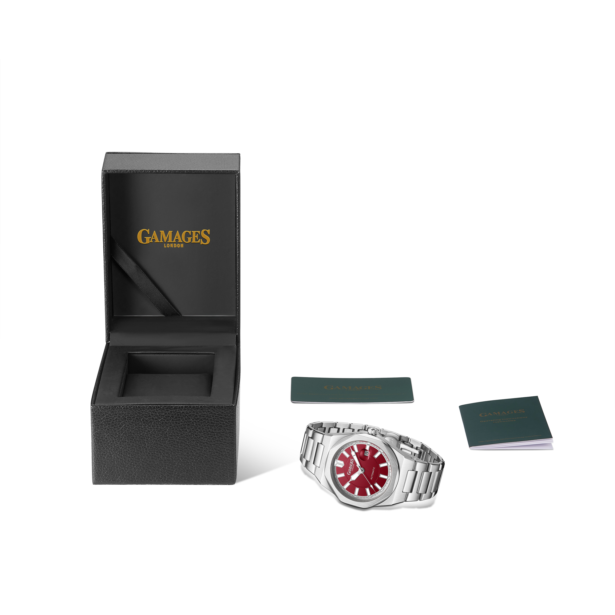 Ltd Edition Hand Assembled GAMAGES Quintessential Automatic Red – 5 Year Warranty & Free Delivery - Image 3 of 5