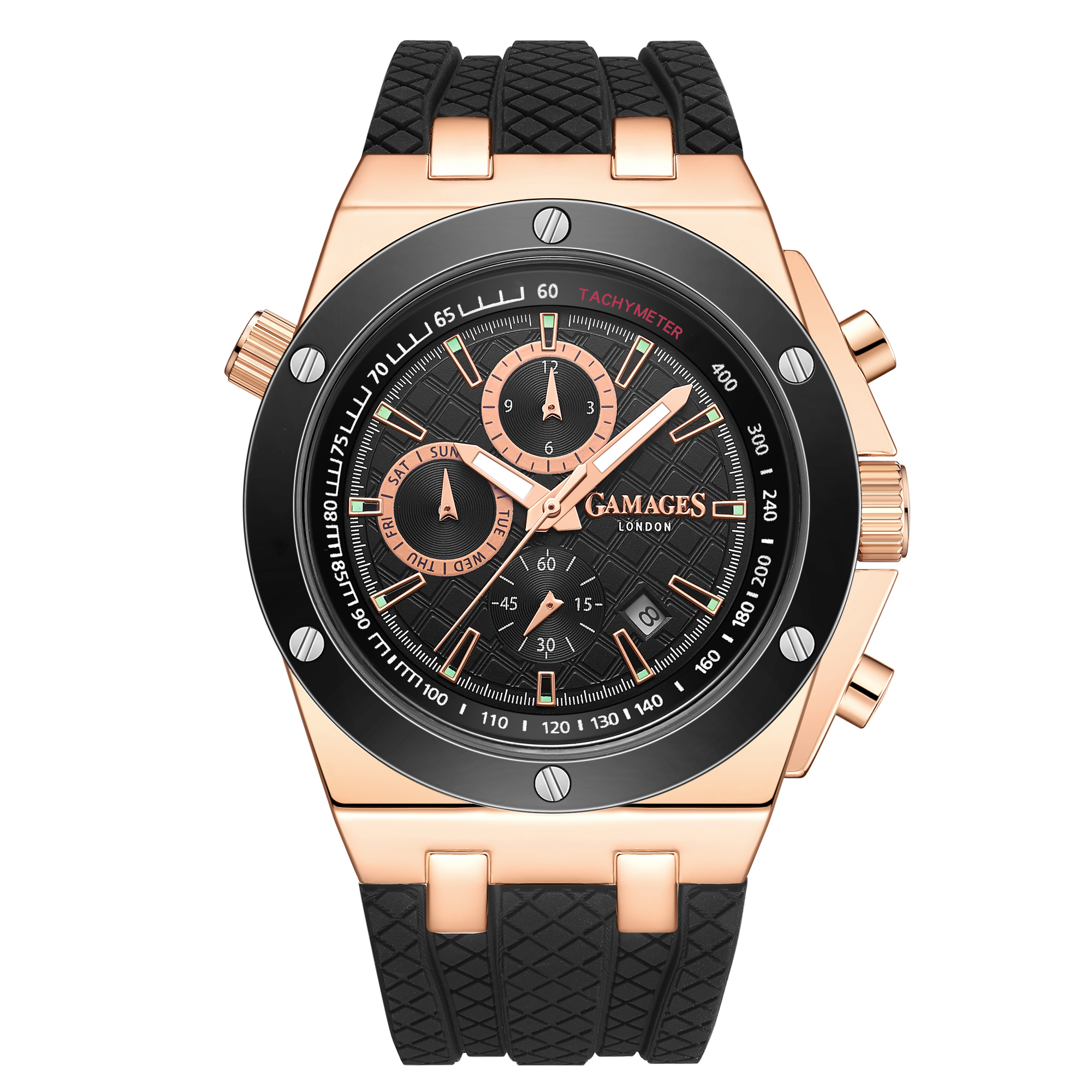 Limited Edition Hand Assembled GAMAGES Militant Automatic Rose – 5 Year Warranty & Free Delivery