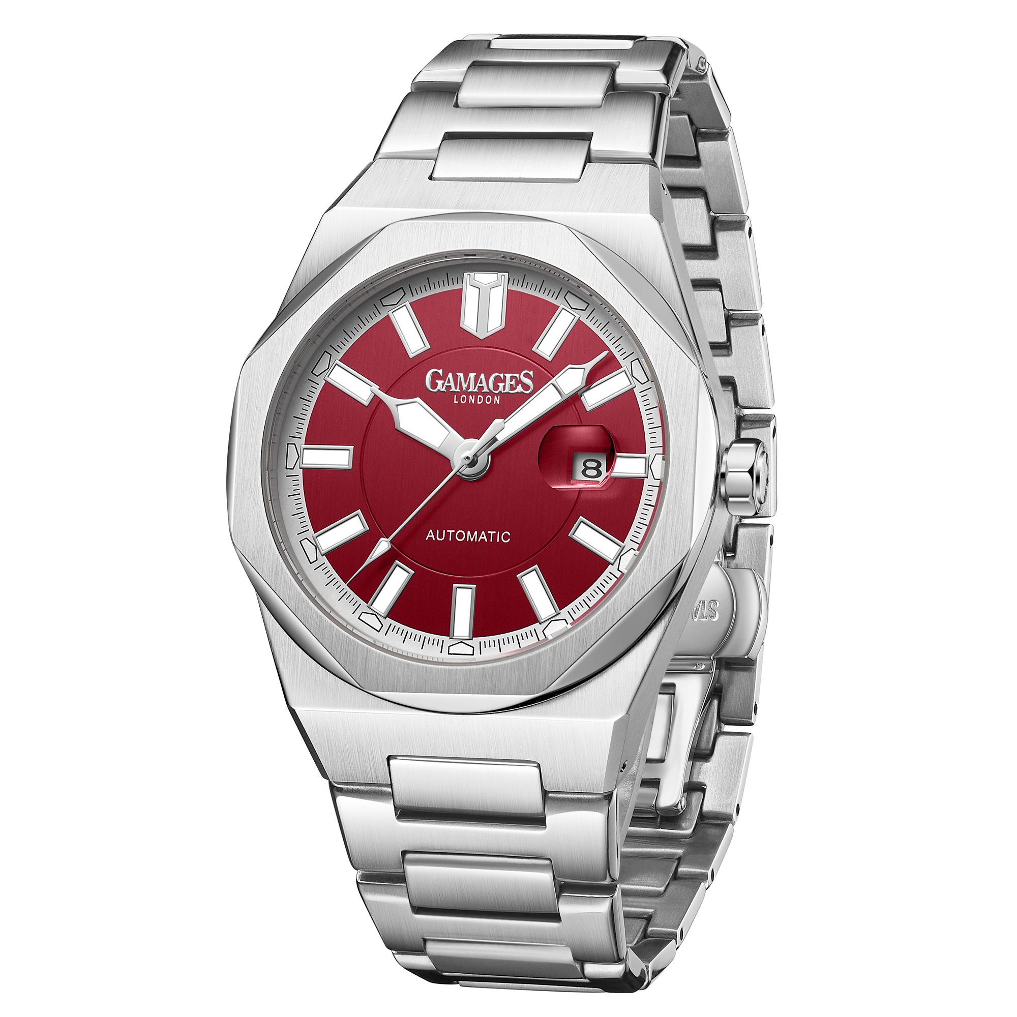 Ltd Edition Hand Assembled GAMAGES Quintessential Automatic Red – 5 Year Warranty & Free Delivery - Image 2 of 5