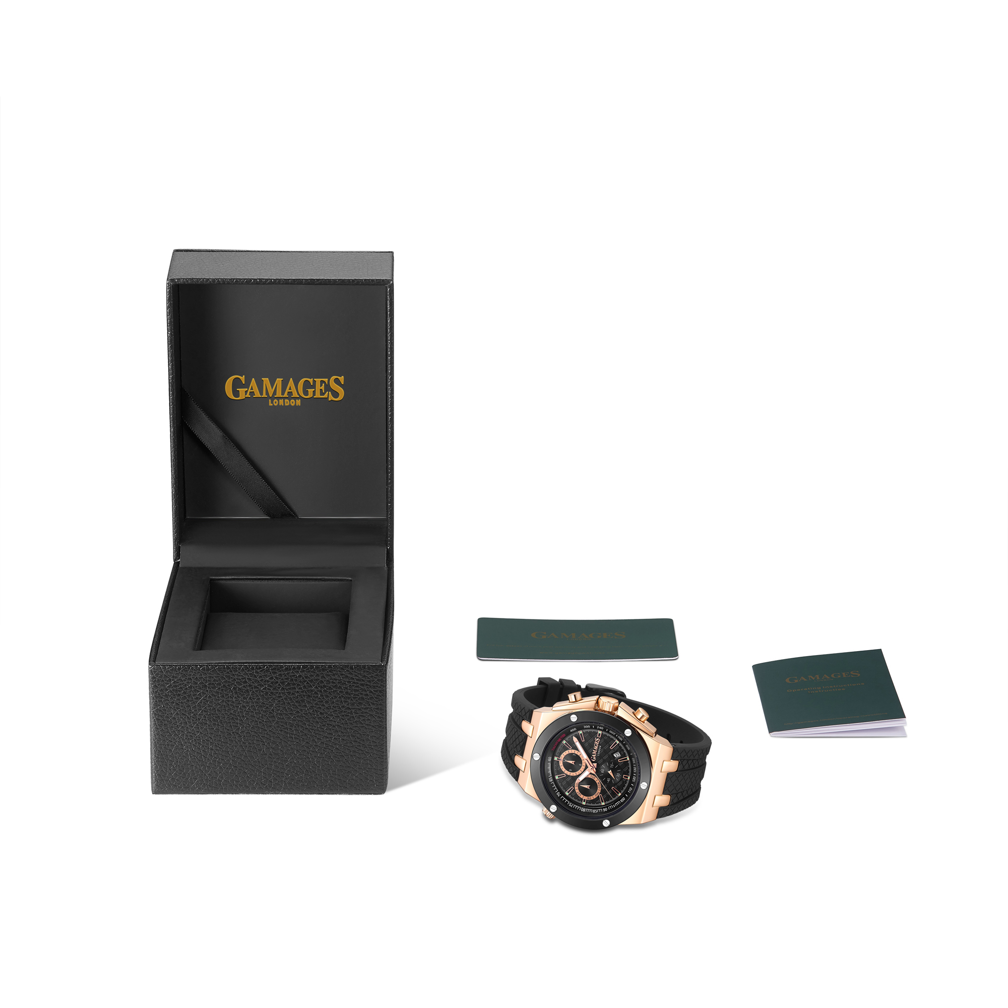 Limited Edition Hand Assembled GAMAGES Militant Automatic Rose – 5 Year Warranty & Free Delivery - Image 2 of 5