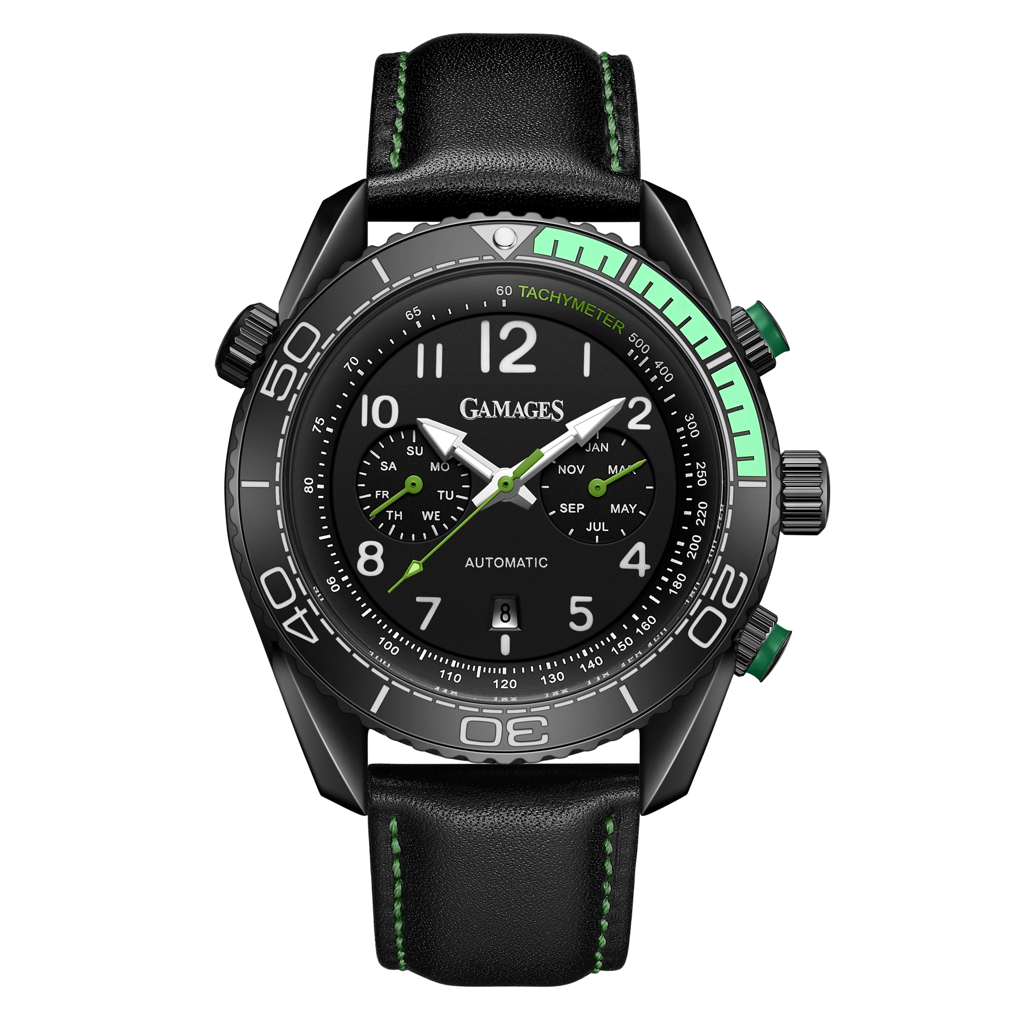 Limited Edition Hand Assembled GAMAGES Supreme Automatic Green – 5 Year Warranty & Free Delivery - Image 3 of 7