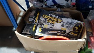 Contents Of Large Box - To Include A Quantity Of Stryker Crossbow & Target Combo Pack