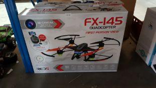 2 X Red 5 FX-145 V2 Quadcopter FPV