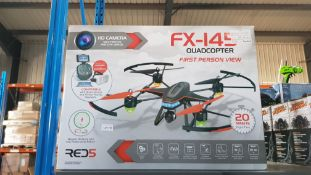 2 X Alloy Structure RC Giant Gyro Flyer