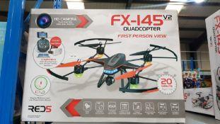 2 X FX-145 V2 Quadcopter FPV
