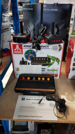 1 X Atari Flashback 9 Retro Gaming Console