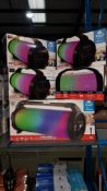 5 Items - 4 X iDance Cyclone 400 Bluetooth Party \speaker & 1 X iDance Cyclone 1000X Party Bl...