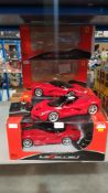 7 X Rastar La Ferrari RC Car (2 X - No Box)