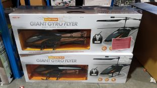 4 X Alloy Structure Giant Gyro Flyer RC Helicopter