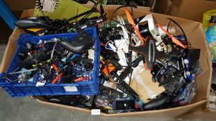 Contents Of Large Box - Mixed Menkind Items To Include A Large Quantity Of Mixed Style Drone...