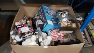 Contents Of Large Box - Mixed Lot To Include Feisty Pets, Duel Battle Game, HD 1080p Action Ca...