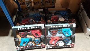 10 X Sharper Image Two-Player Electronic Space Laser Tag