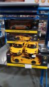 10 X MZ Lamborghini Aventador Coupe RC Car (2 X No Box)
