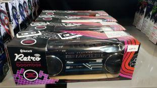 4 X Retro Bluetooth Tape Cassette Player Boombox