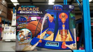 6 X Electronic Arcade Basketball
