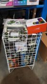 Contents Of Cage - Mixed Lot To Include Retro Mini Arcade, He T900 Premium Wireless Speaker w...