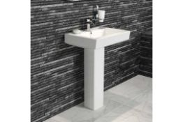 New Belfort Pedestal Basin Set Rrp £379.99 Manufactured From High Quality White Vitreous China...