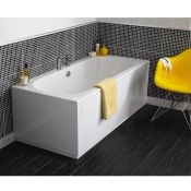 NEW (N123) 1800x800mm Round Double Ended Bath. RRP £449.99.Manufactured in the UK Sanitary gr...
