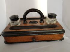 Edwardian Desk Stand With Drawer