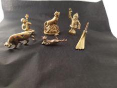 Brass Novelty Figures