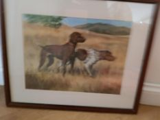 2 Pointers Working In Field Framed Picture