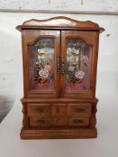 Jewellery Cabinet.