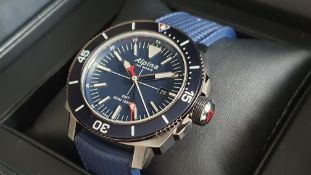 ALPINA Seastrong Diver 300 GMT SWISS MADE