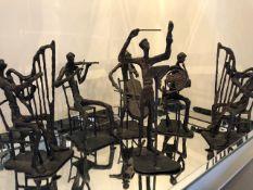 6 Piece Bronze Orchestra