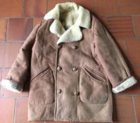 Vintage Baby Lamb 1960 coat with some damage
