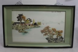 Japanese Relief Boxed Wall Art
