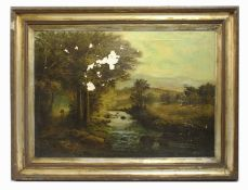 Landscape by R.Marshall Oil on Canvas