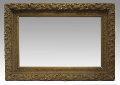Antique Gesso & Wood Picture Frame