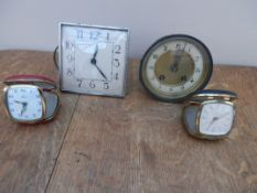 Travelling clocks and clock spares
