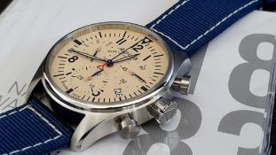 Alpina Chronograph vintage style Dial Quality swiss made