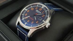 Alpina Startimer Pilot Blue