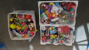 Contents Of 3 Boxes : A Quantity Of Mixed Small Toys