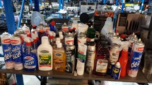 Approx 80 Items : Mixed Lot To Include CarPlan Blue Star De-Icer, Triplewax Wash & Wax, Autodrive M